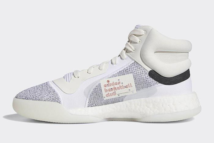 Adidas Marquee Boost White 4