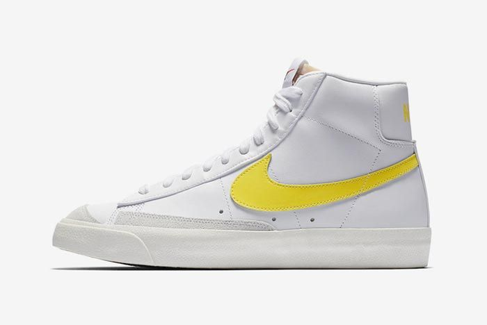 Nike Blazer Mid 77 Opti Yellow Lateral