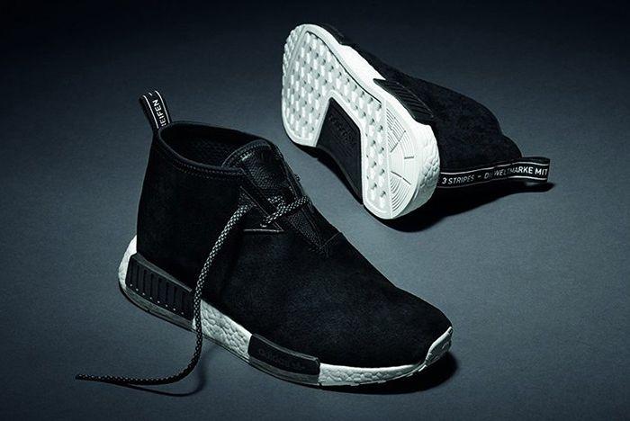Adidas Nmd Chukka Black Suede