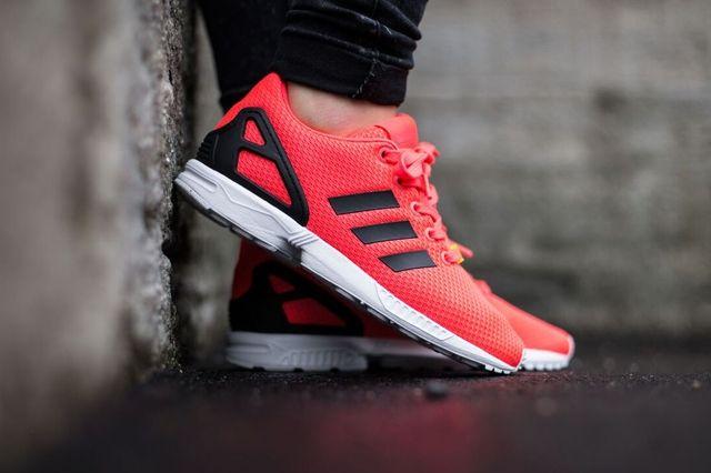 Adidas Originals Zx Flux Flame Red 4