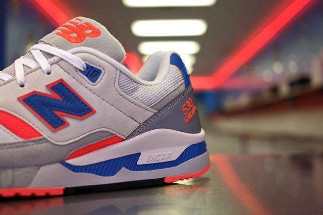New Balance 530 Blue Orange 4