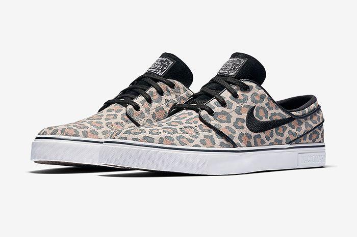 Wacko Maria Nike Sb Janoski Leopard 845711 200 Release Date Pair