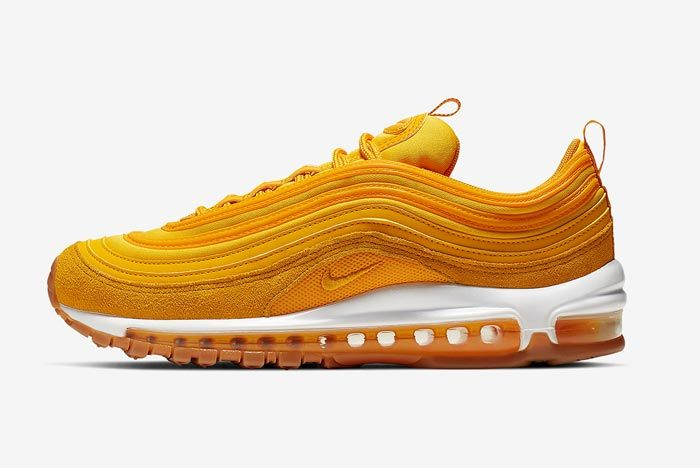 Nike Air Max 97 Womens Double Gold Lateral
