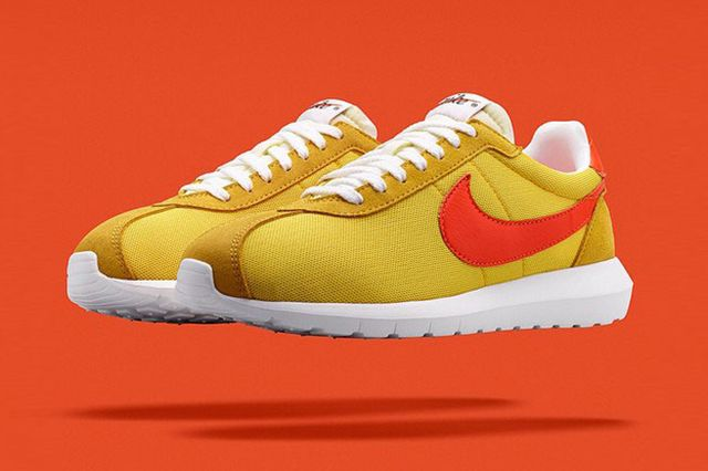 Nike Roshe Ld 1000 Fragment Design Yellow Orange 1