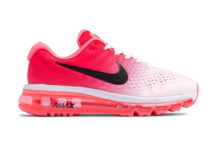 Nike Air Max 2017 White Hot Punch 849560 103 Lateral