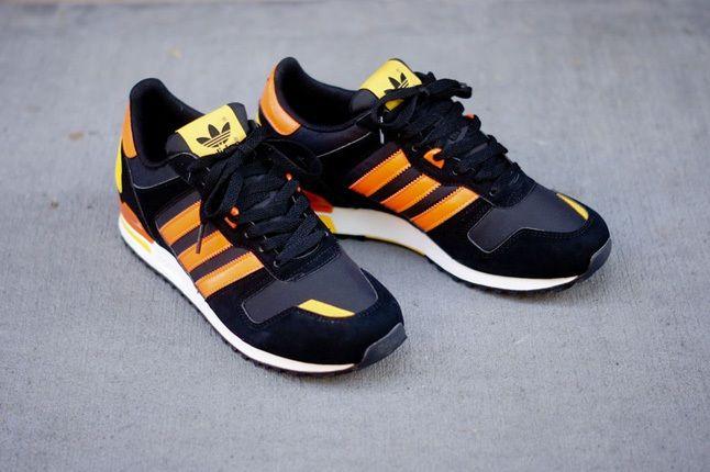 Adidas Zx700 Black Orange Hero 1
