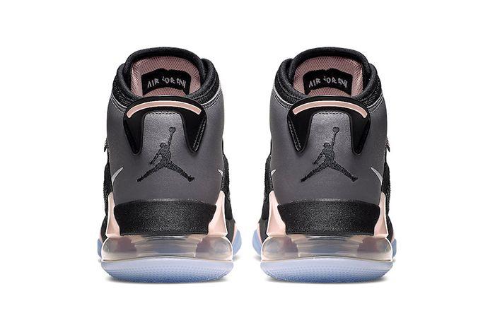 Jordan Mars 270 Grey Black Pink Cd7070 002 Release Date Heel