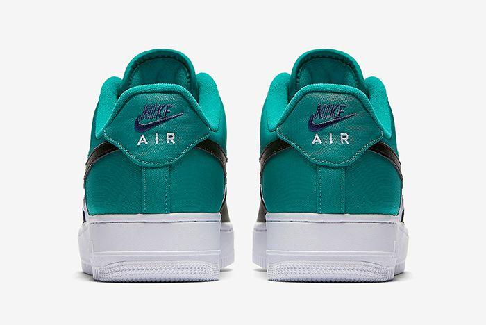 Nike Air Force 1 Mini Swoosh Neptune Green3