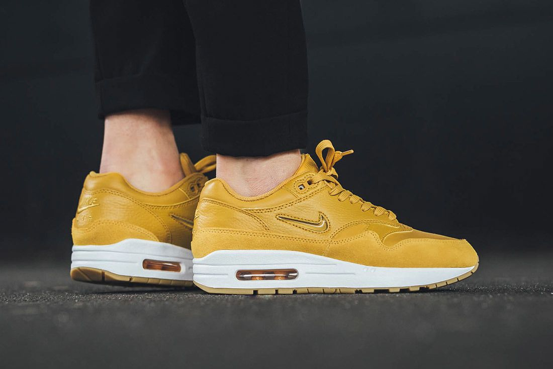 Nike Air Max 1 Jewel Mustard Yellow 3