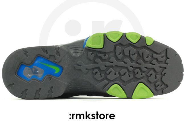 Nike Air Max Barkley Dark Grey Photo Blue Green Sole 1