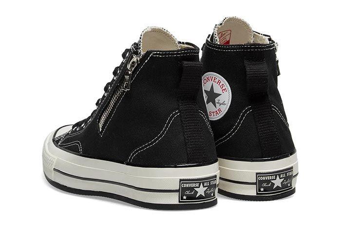 Converse Riri Chuck 70 Black Heels