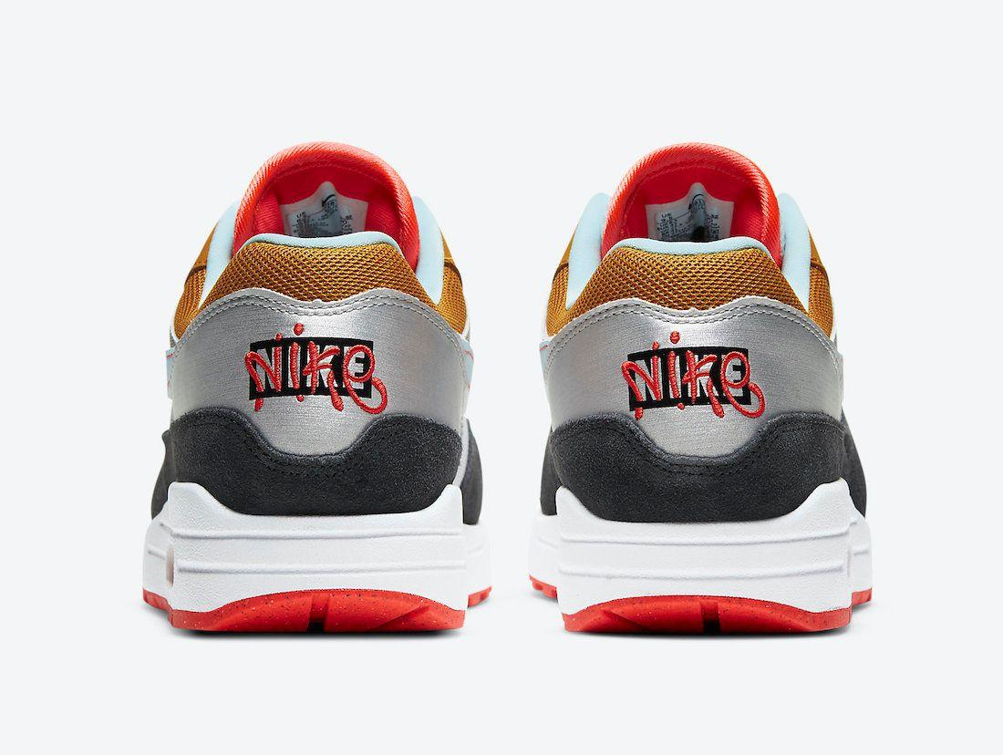 Nike Air Max 1 Double Heel Branding