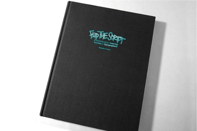 Handselecta Flip The Script Book Front Cover 1
