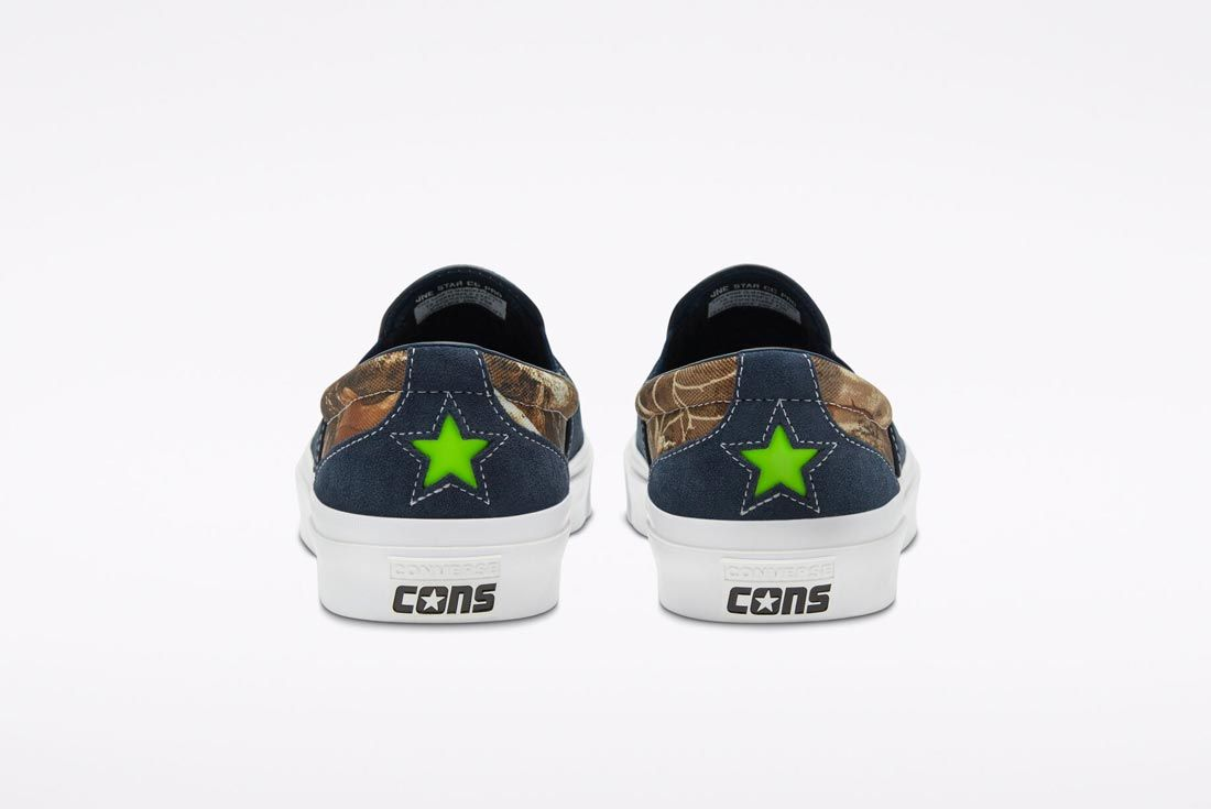 Converse One Star Slip Pro Obsidian/Realtree