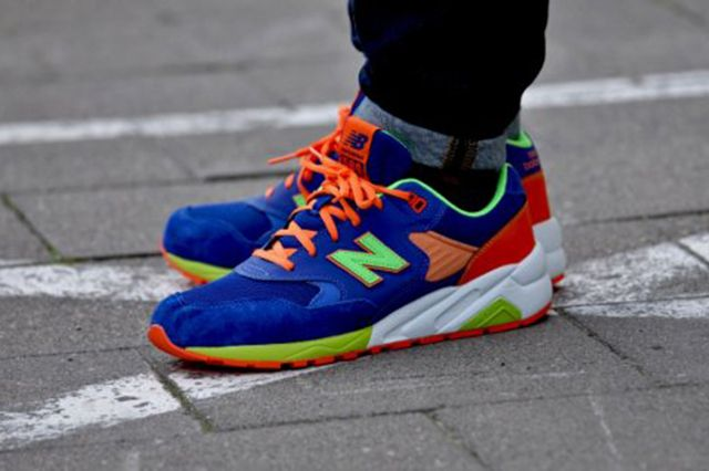 New Balance Mrt580 Bm Grey Turquoise Apple Pink 2