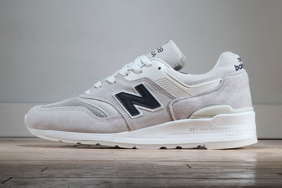 New Balance 997 – Made In Usa Pebbled White
