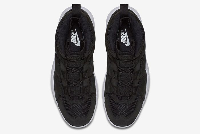 Nike Air Max Uptempo 2 Black White 3