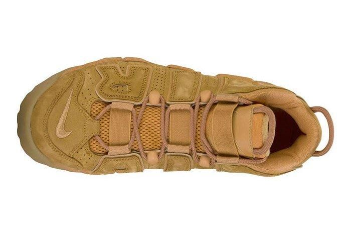 Nike Air More Uptempo Wheat Brown 2