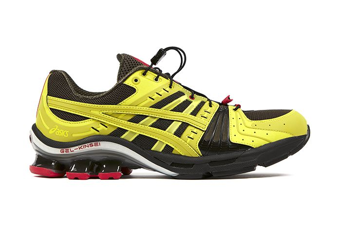 Affix Works Asics Gel Kinsei Yellow Black Red 2019 September Release Date Lateral