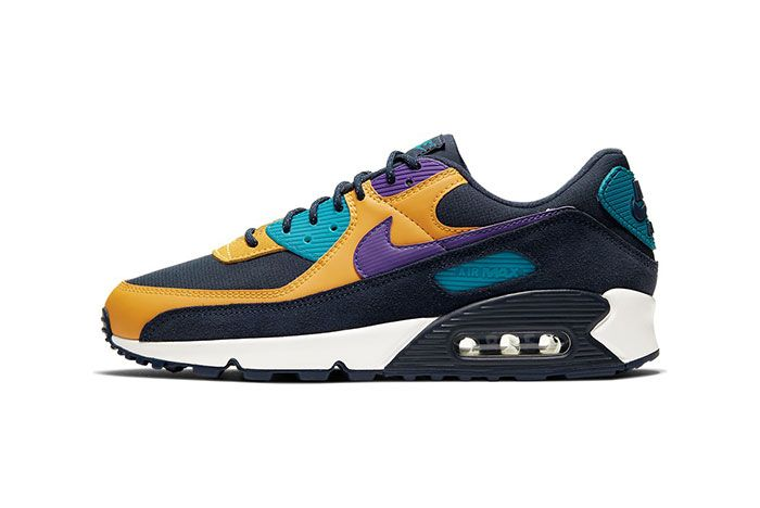 Nike Air Max 90 Persian Violet Left