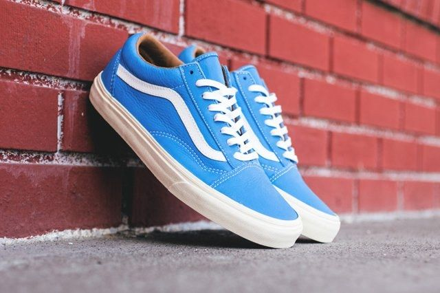 Vans Old Skool Classic Leather Pack 6