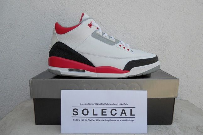 Air Jordan Iii Fire Red 2