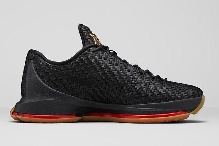 Nike Kd8 Ext Gold Black Woven Bump 3