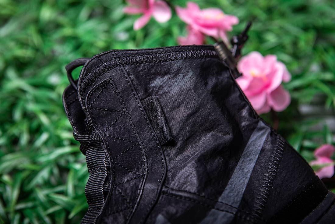 Nike Air Force 1 High Shell Black Detail