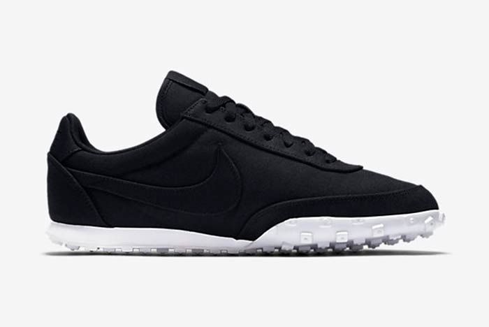 Nike Waffle Racer 17 Textile Black 3