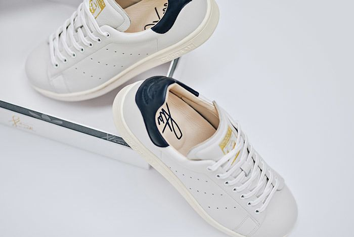 Adidas Stan Smith Leather Reconstructed White Black 13