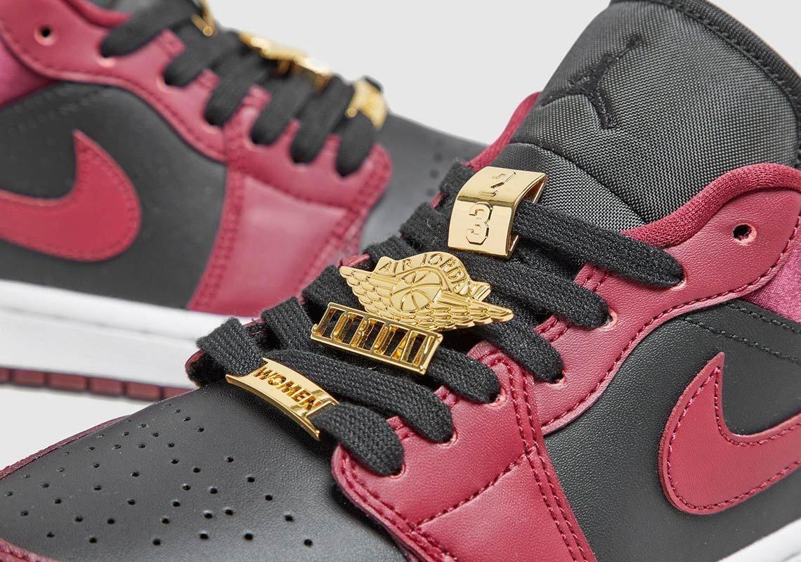 The Air Jordan 1 Low Brings the Bling!