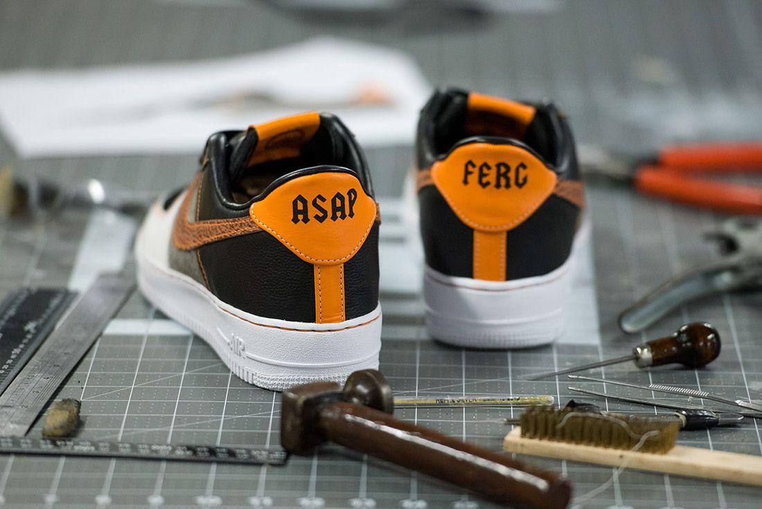 Bespoke Ind Aap Ferg Nike Air Force 1 Sneaker Freaker 2