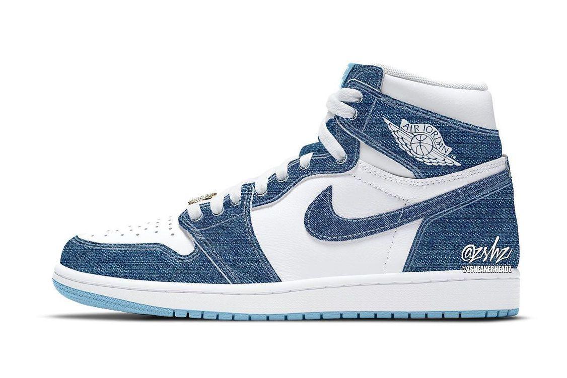 Air Jordan 1 Denim Women's