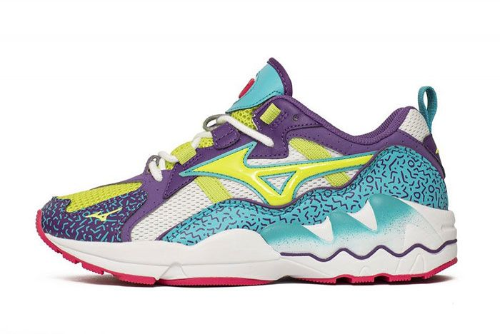 Mizuno Wave Rider 1 Fresh 90S Lateral