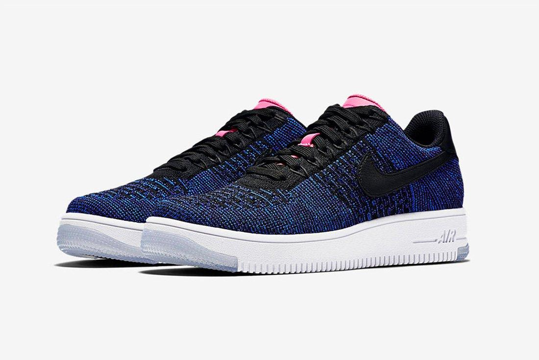 Nike Air Force 1 Ultra Flyknit Low Womens Digital Pink 1