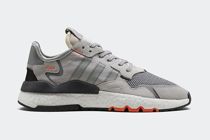 Adidas Nite Jogger Ripstop Reflective Grey Db3361 Release Date Side Profile