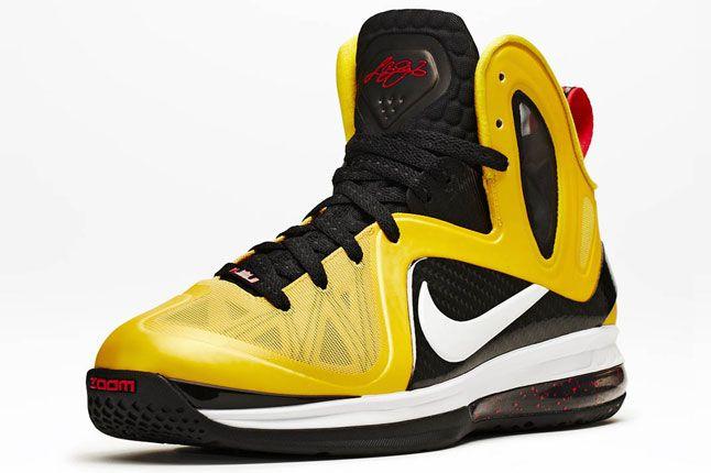 Nike Lebron 9 Ps Elite Varsity Maize Black White Official 03 1