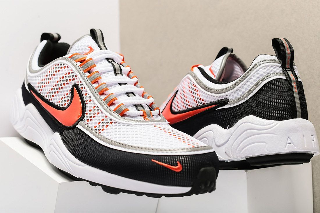 Nike Air Zoom Spiridon 16 926955 106 White Team Orange Sneaker Freaker 1