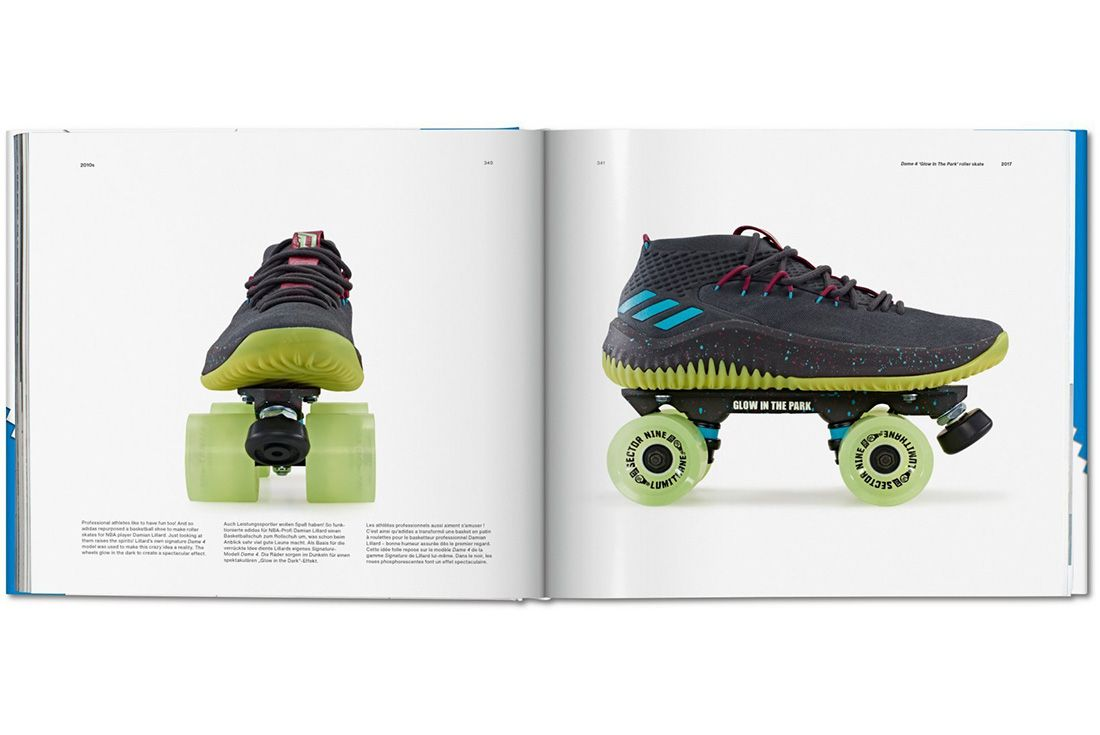 Adidas Taschen Book Skates