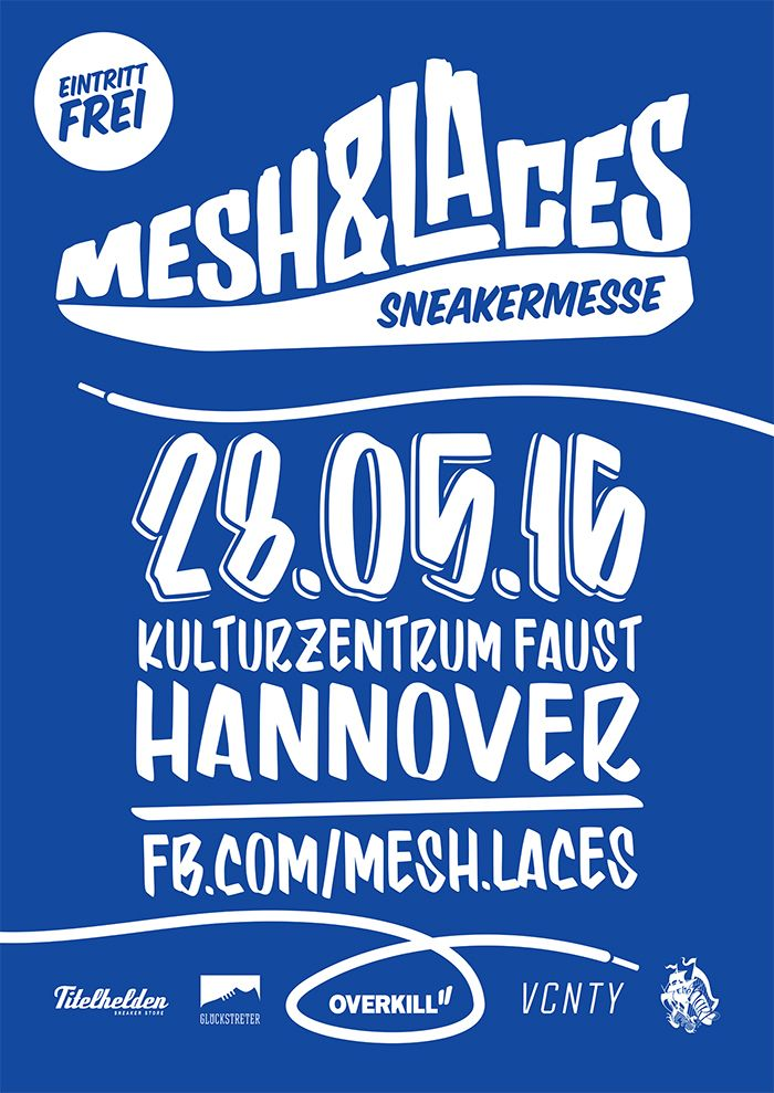 Mesh Laces Sneaker Event Coming To Hannover May 28 Th2