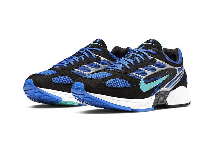 Nike Air Ghost Racer Racer Blue Front Angle