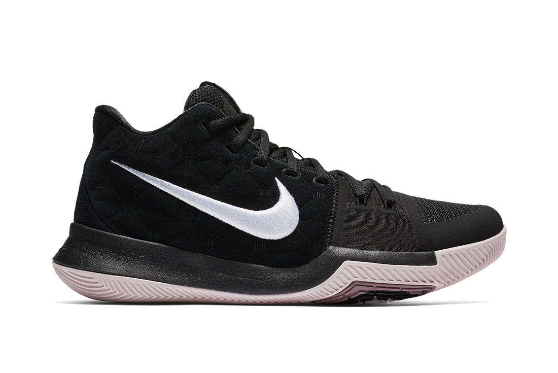 Nike Kyrie 3 Blackwhite 9