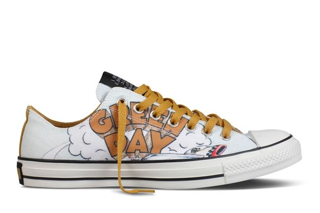 Converse Chuck Taylor All Star Green Day Dookie 1