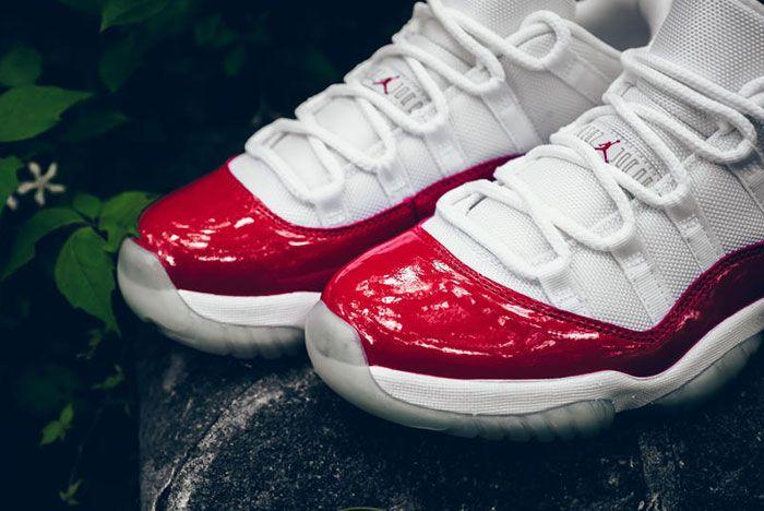 Air Jordan 11 Cherry 4