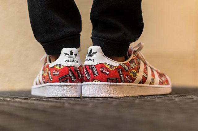 Adidas Originals Superstar By Nigo Superstar Scarlet