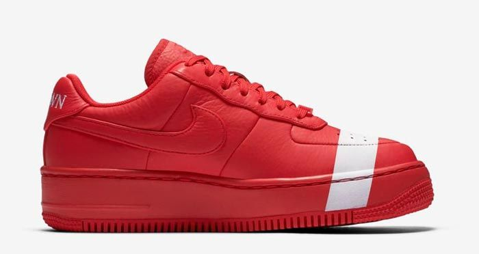 Nike Air Force 1 Upstep Wmns Red White 3