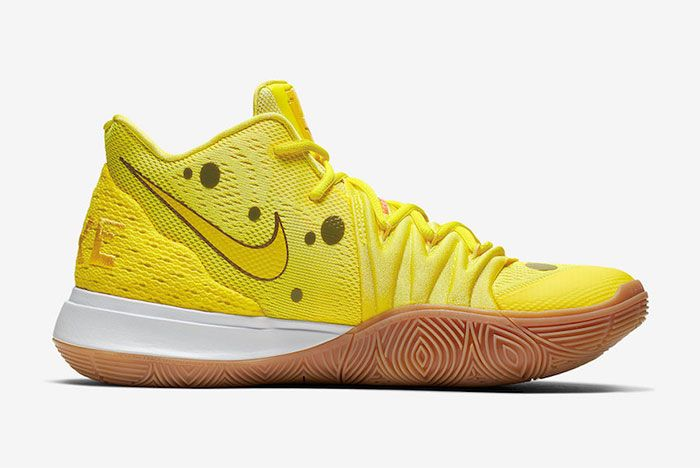 Nike Kyrie 5 Spongebob Patrick Star Right
