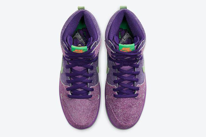 Nike SB Dunk High 4/20 'Reverse Skunk' Top