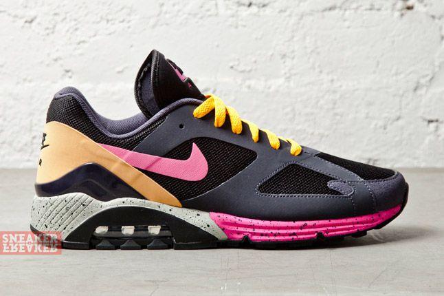 Nike Air Max Terra 180 Black Pink Foil Gridiron 3