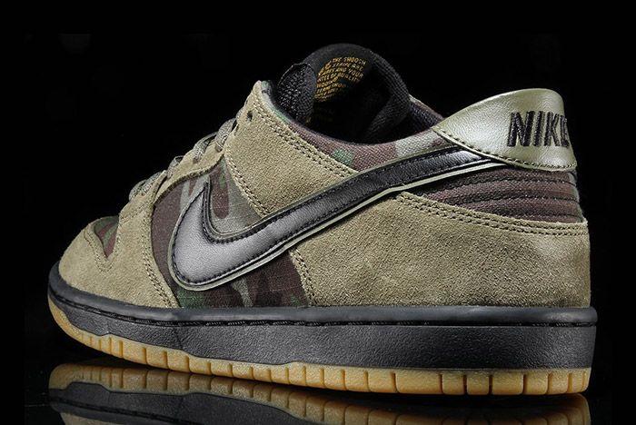 Nike Sb Dunk Low Camo 3